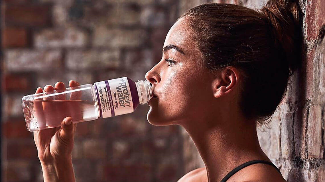 Should you replace your protein shake with protein water